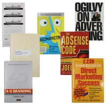 Book Bundle Ogilvy on Advertising Buzz Marketing 4-D Branding Brand Hija... - $34.97