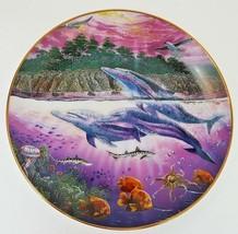 1991 Danbury Mint Robert Lyn Nelson Underwater Paradise California Spiri... - $12.16