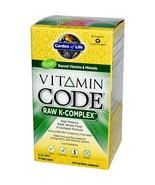 Garden of life vitamin code raw vitamin k complex thumbtall