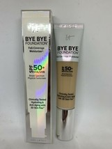It Cosmetics Bye Bye Foundation Full Coverage Moisturizer SPF 50 Light or Medium - $34.00