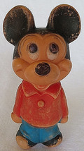"Vintage Mickey Mouse plastic toy Figures Play Toy 5"" - $10.00"