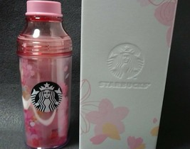 Starbucks Sakura Double Wall Sunny Bottle Check 473ml Japan Limited 2018 - $61.71