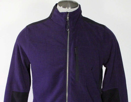 Nautica Zip Front Deep Cobalt Fleece Jacket Mens Small S NWT $79 image 2