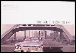 1960 Plymouth Prestige Brochure Fury Belvedere Savoy Xlnt 60 - $10.97