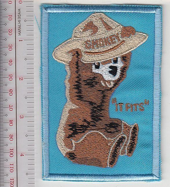 Smokey the bear usfs smokey junior tries a ranger hat   it fits   blue  9.99