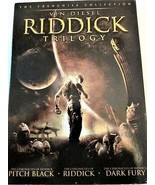 Riddick Trilogy DVD New Vin Diesel Judi Dench 3 Movies Pitch Black Dark ... - $8.90