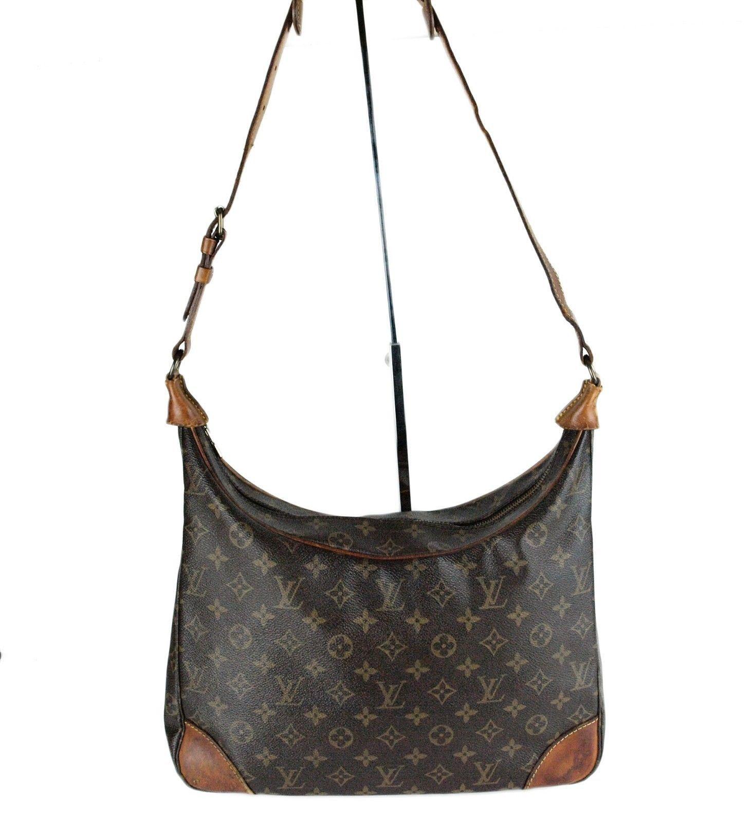 Auth Louis Vuitton Monogram Canvas 35 BOULOGNE GM Shoulder Bag France 8906 A2 - $444.51