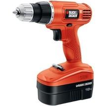 Black & Decker GC1801 18-Volt CORDLESS Drill/Driver W/ KEYLESS CHUCK NEW... - $79.90