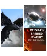 Haunted RING RAVEN MASTER OF MAGICK  TRANSFORMATION SPIRIT VESSEL MAGICK... - $87.77