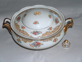 Priscilla Pirken Hammer Czechoslovakia M.S. Co Soup Tureen Serving Bowl ... - $36.78