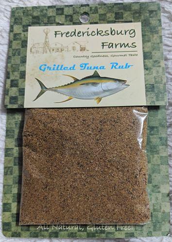 Fredericksburg Farms All Natural And Gluten Free Grilled Tuna Rub