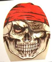 Creepy Zentai Morph PIRATE SKULL MASK Horror Monster Cosplay Costume Acc... - £3.08 GBP