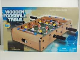 Wooden Classic Mini Foosball Table Soccer Football Family Arcade Game Ta... - $32.71