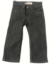 NEW BOYS LEVI LEVIS STRAUSS BLUE JEANS 514 SLIM STRAIGHT PIRATE 91R514 8... - $19.78