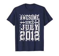 Brother Shirts - Awesome Since Legends Born In JULY 2012 Aged 6 Years Ol... - $19.95+