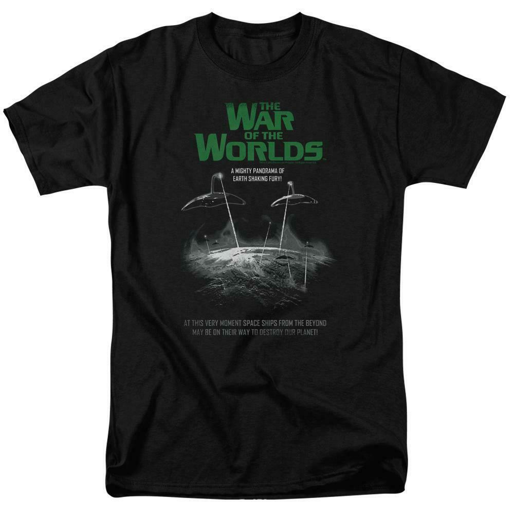 The War of the Worlds t-shirt A Mighty Pandrama retro 50s graphic tee PAR538