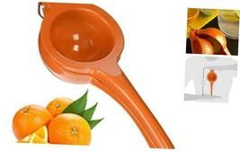 IMUSA USA VICTORIA-70009  Orange and Citrus Squeezer, Orange Orange - $14.11