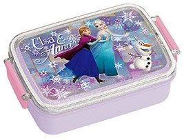 NEW  Sealed lunch box 450ml Frozen Ana and Elsa 15 Disney RB3A - $38.86