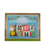 """Snakes and Ladders Professor Puzzle Giant Board Game Indoor Outdoor 40"""" - $12.11"""