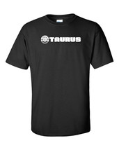 Taurus Firearms Script White Logo T Shirt 2nd Amendment Pro Gun Rifle Pi... - $17.99+