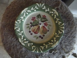 Certified International La Toscana pear salad plate 1 available - $5.89