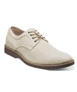Stacy Adams Eli Plain Toe Oxford Casual Shoes Canvas Cream  25237-113 - £63.45 GBP