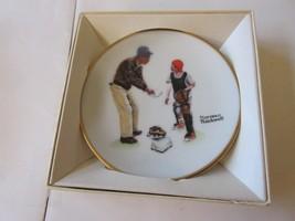 Norman Rockwell Four Seasons Mini Plate - Big Decision Baseball- Spring ... - $5.94
