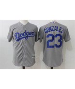 Los Angeles Dodgers Baseball jersey Gonzales # 23 MLB Cool Base Player sale - $49.90