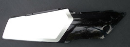 '98 FZR 600 FZR600 RIGHT REAR TAIL COVER PLASTIC FAIRING COWL BLACK WHIT... - $162.46