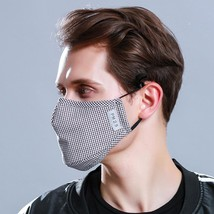 Washable Face Mask Anti-Dust Flu Reusable Respirator Masks with 2 carbon filter image 7
