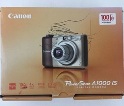 Canon PowerShot A1000 IS Digital Camera and Accessories Box Papers - $25.69