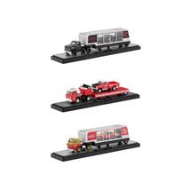 Auto Haulers Race Version Coca-Cola Release Set of 3 Trucks 1/64 Diecast... - $92.07