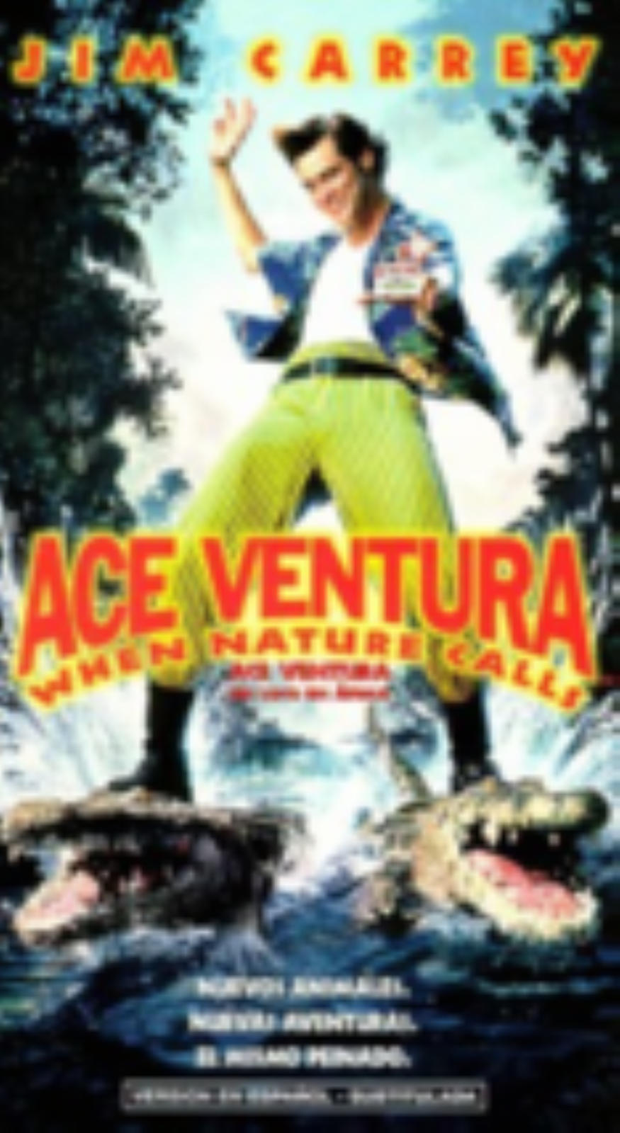 Ace Ventura: When Nature Calls Vhs
