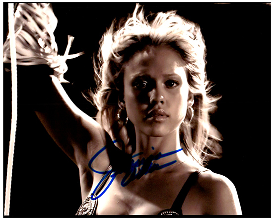 JESSICA ALBA  Authentic Original  SIGNED AUTOGRAPHED PHOTO W/COA 49099