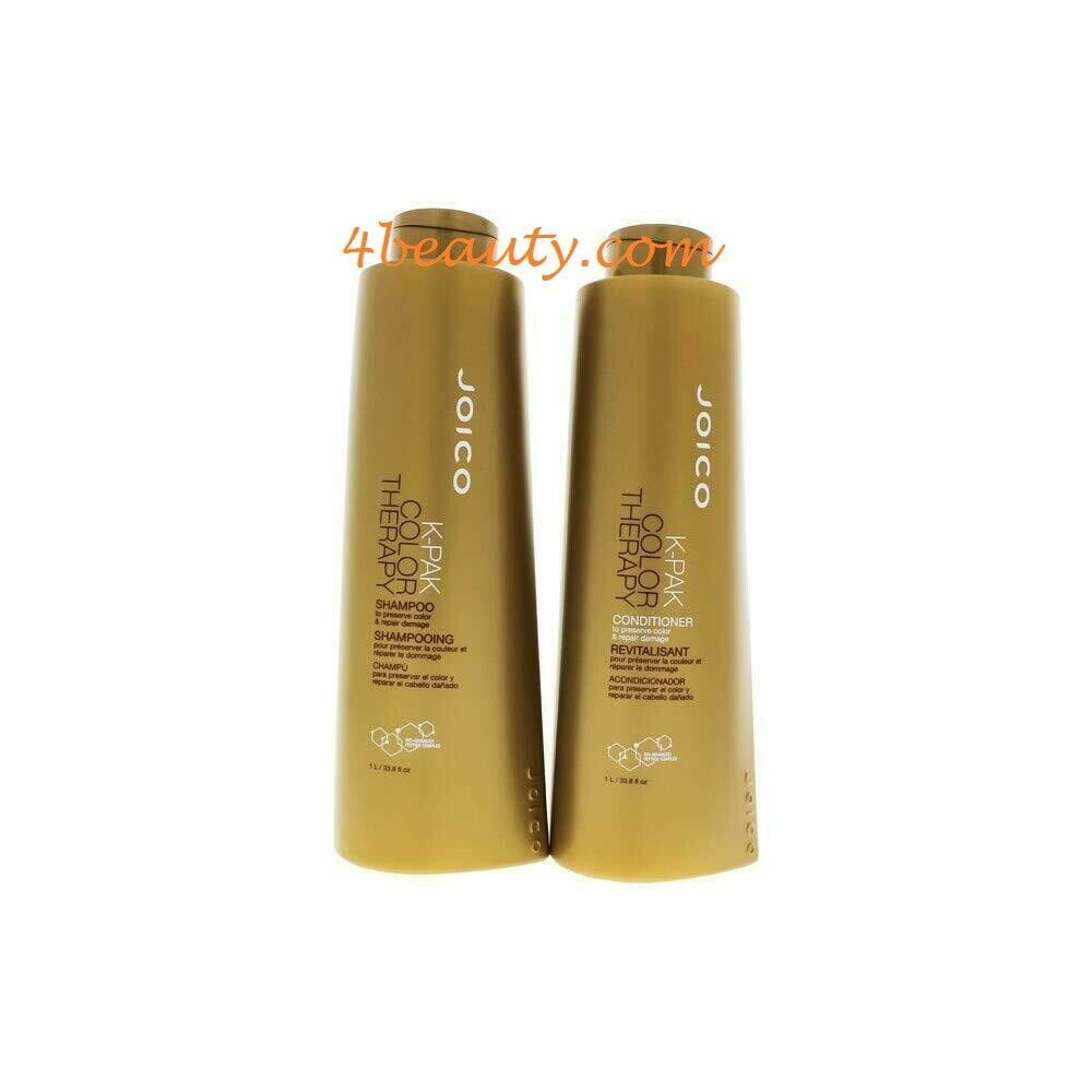 Primary image for Joico K-pak Color Therapy Shampoo & Conditioner 33.8oz Liter Duo