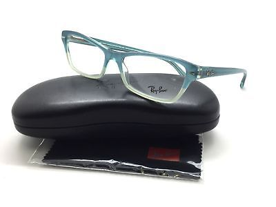 Ray- Ban Eyeglasses Rb5256 5109 Azure Faded 54MM Plastic