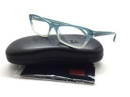 Ray- Ban Eyeglasses Rb5256 5109 Azure Faded 54MM Plastic - $67.87