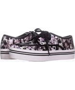 DV by Dolce Vita Jaimee Platform Fashion Sneakers 764, Floral Print, 8.5 US - $31.67