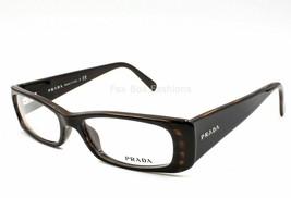 Prada Eyeglasses Frame VPR 17L 54-15 7NB 1O1 135 Tortoise Brown Plastic ... - $49.50