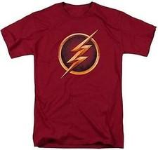 The Flash Émissions Télé Séries Cw Super Héros DC Comics Logo Justice Ligue Polo - $24.21+