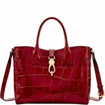 Dooney and Bourke Pembrook Large Amelie Tote Wine image 1