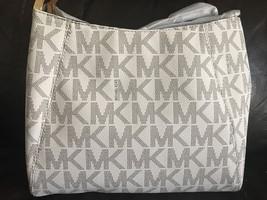 NWT Michael Kors Vanila Medium Tangerine PVC Me... - $128.69