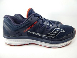 Saucony Guide ISO Size US 10.5 M (D) EU 44.5 Men's Running Shoes Navy S2... - £29.30 GBP