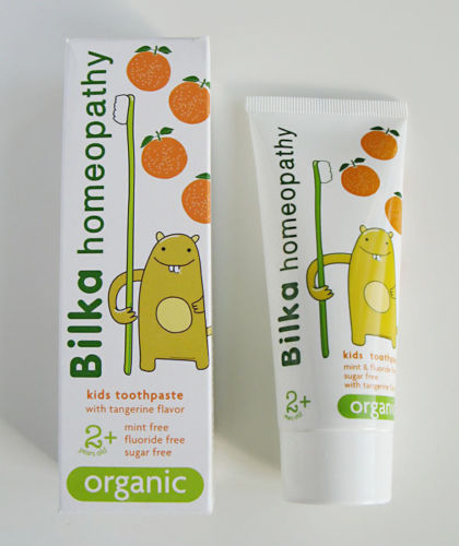Primary image for Bilka HOMEOPATHY Kids 2+ ORGANIC Toothpaste Fluoride & Sugar Free safe & tasty