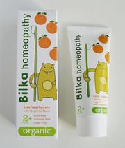 Bilka HOMEOPATHY Kids 2+ ORGANIC Toothpaste Fluoride & Sugar Free safe &... - $5.49
