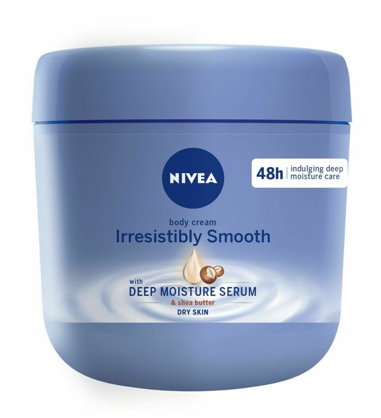 Primary image for NIVEA Irresistibly Smooth Body Cream 15.5 oz / 400 ml US Seller, Exp. 2/22