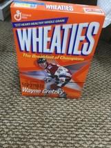 WAYNE GRETZKY #99 WHEATIES CEREAL BOX TEAM CANADA/ RANGERS VINTAGE NEW S... - $49.49