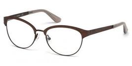 NEW Guess GU 2617 049 51mm Matte Dark Brown Optical Eyeglasses Frames - $52.63