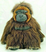 "Disney World Life Like Gorilla/Ape Plush Stuffed Animal Kingdom Toy 14"" - $22.24"