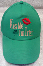 Kiss Me I'm Irish Green St. Patricks Day Good Luck Clover Lips Adj Ball ... - $14.98